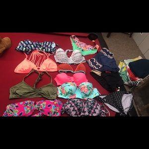Lot of Brand Name Swimwear Womens L/XL bikini